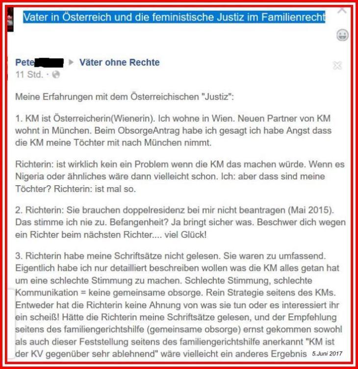 Vater in Österreich 5-6-2017